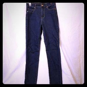 Stretch high waist skinny jeans